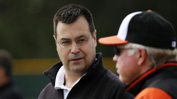 Man I would love to see the Orioles spend to get Yovani Gallardo and Dexter Fowler, while giving up the 1st RD picks (14th and Miami's pick for Wei-Yin Chen). I love the idea of striking with Wieters, Trumbo and Matusz on their last year of their deals, and with Chris Davis and Adam Jones at the pinnacle of their prime. 3 - 4 years for youngsters is too long to wait for the 20% chance you will even have a comparable player to one you sign now anyway.