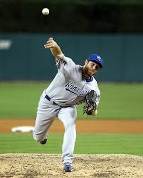 Holland took over Closer duties during the 2012 season - once Jonathan Broxton was traded to the Cincinnati Reds. He was 7 - 4, with a 2.96 ERA - with 16 Saves. He was dominate until he went down with a UCL tear this season.