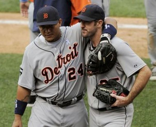 ustin Verlander was once the best pitcher in the American League over the last 5 years. Verlander was 137 - 77 (.640) with a 3.41 ERA in the 1st 9 years of his career. The 2011 AL Cy Young Winner and 2012 Cy Young runner up is signed with the club until at least 2019, and it could be 2020 with a Vesting Option. Verlander had thrown over 200+ IP each year since 2007. The Detroit Tigers are certainly lucky the San Diego Padres took Matt Bush with the 1st overall pick - as JVerlander has been the best pitcher in the American League over the last 5 years. Verlander is 137 - 77 (.640) with a 3.41 ERA in the 1st 9 years of his career. The 2011 AL Cy Young Winner and 2012 Cy Young runner up is signed with the club until at least 2019, and it could be 2020 with a Vesting Option. Verlander has thrown over 200+ IP each year since 2007. The 30 Year old has added a 7 - 5 record in 15 Career Post Season Games and a 3.28 ERA - among 0 - 3 with a 7.20 in 3 World Series Starts