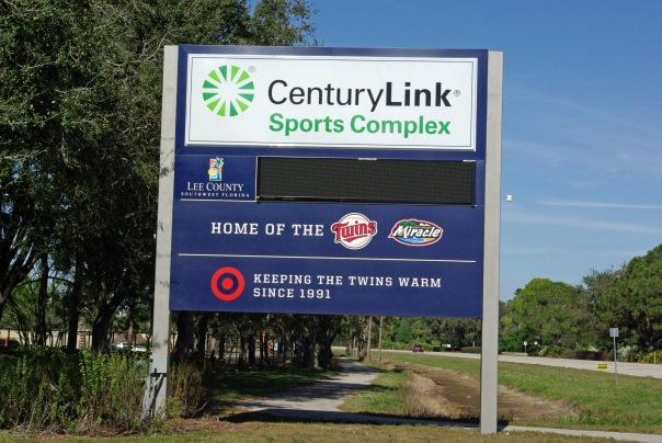CenturyLink Sports Complex sign 2