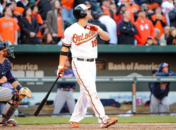 Chris Davis has led the Majors in homers in 2 of the last 3 years, with 53 HRs and 47 HRs sandwiched with his 2014 campaign - where he hit 26 HRs in 127 Games Played before a 25 game suspension was levied for not receiving permission for a pill close to Adderall. Davis has the league's consent now just like 2013 and 2015. I just don't have him as a great odd on this list.