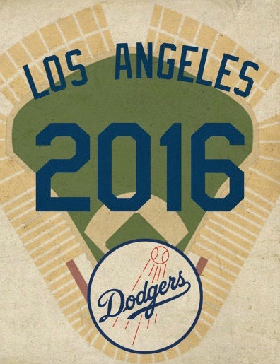 los angeles dodgers 2016
