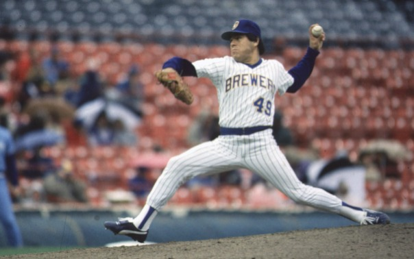 Milwaukee Brewers, Teddy Higuera pitch, Historical, 1/19/200